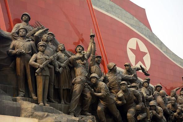 North Korean war memorial