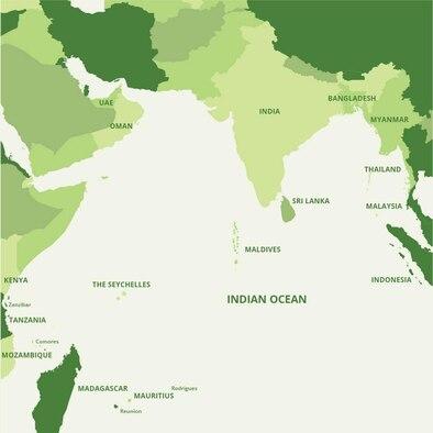 Indian Ocean island states