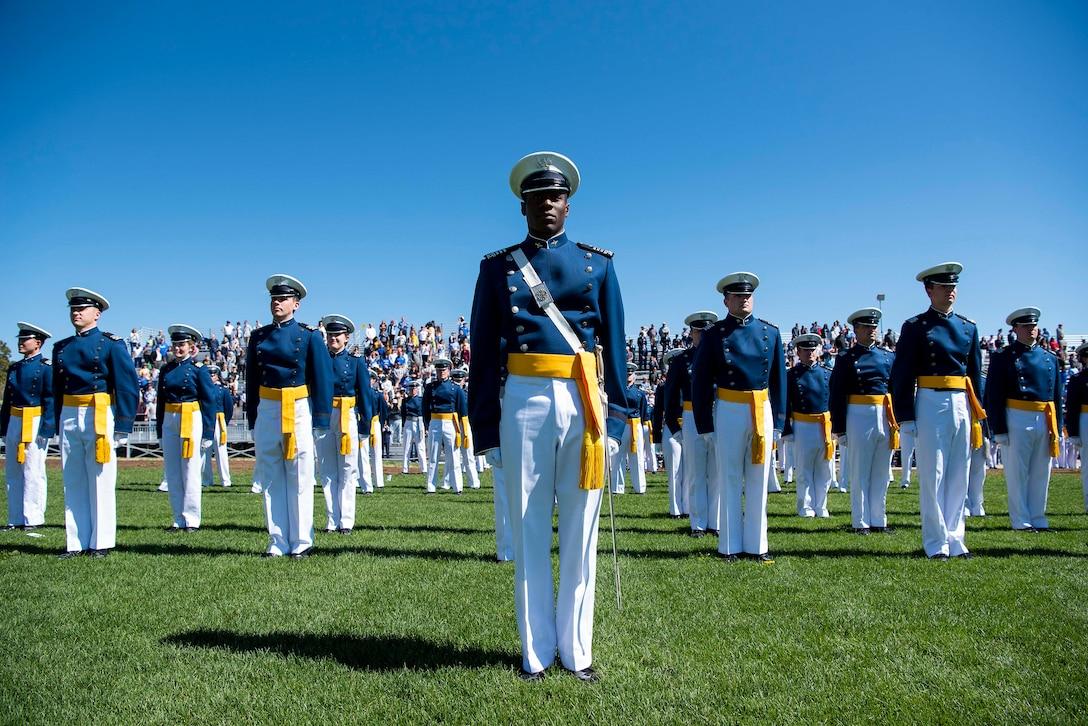 USAFA Graduation Parade 2021