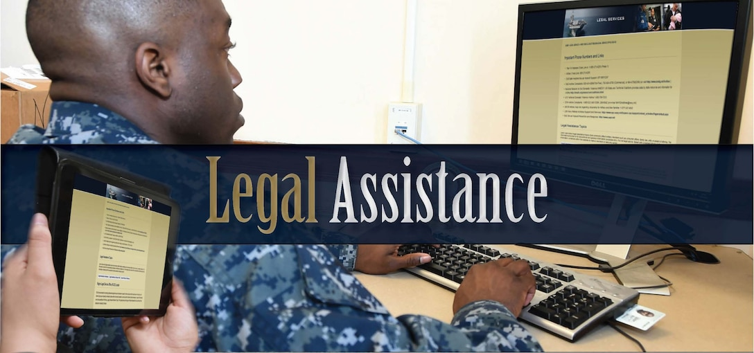 Navy Releases New Online Legal Assistance Resources