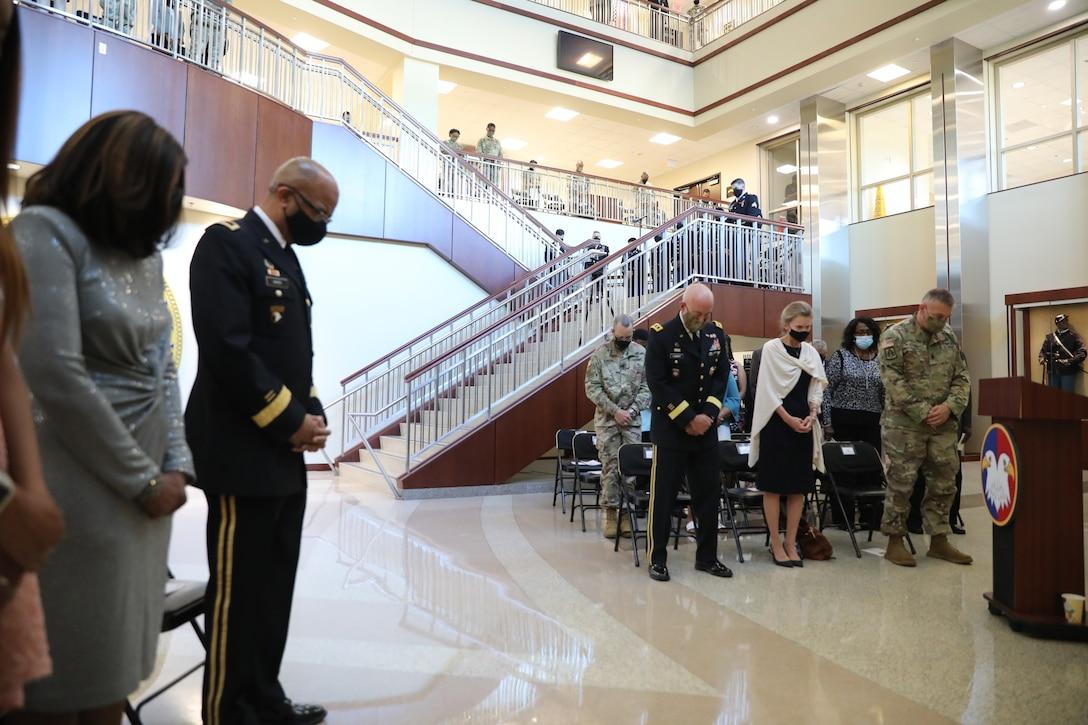 Lt. Gen. A.C. Roper Promotion Ceremony