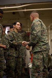 The Makin Island Amphibious Ready Group and the 15th Marine Expeditionary Unit are conducting operations in the U.S. 3rd Fleet area of responsibility. (U.S. Marine Corps photo by Lance Cpl. Brendan Mullin)