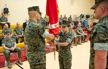 Headquarters and Service Battalion Change of Command Ceremony