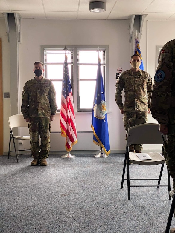 Graphic for change of command