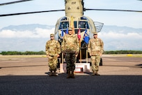 1-228th Aviation Regiment welcomes new commander, recalls record year of hurricane relief efforts