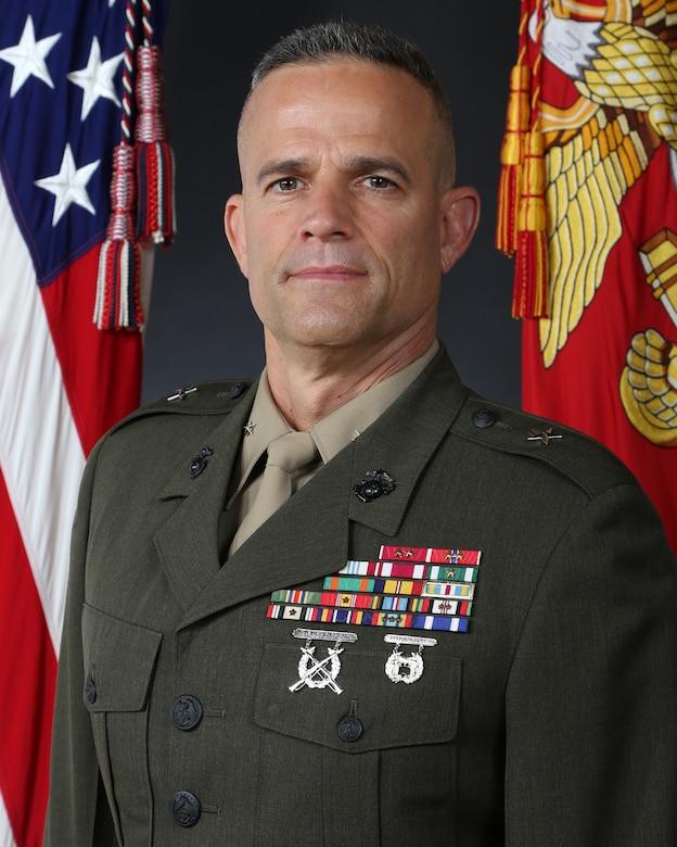 Brigadier General Andrew M. Niebel, Marine Corps Base Camp Lejeune commanding general