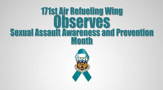 Graphic for association with news story titled 171st Air Refueling Wing Observes Sexual Assault Awareness and Prevention Month created June 5, 2021. (U.S. Air National Guard Graphic Illustration by Senior Master Sgt. Shawn Monk)