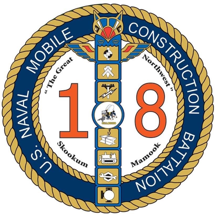 NMCB-18 logo