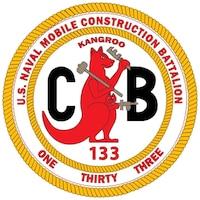 NMCB-133 logo