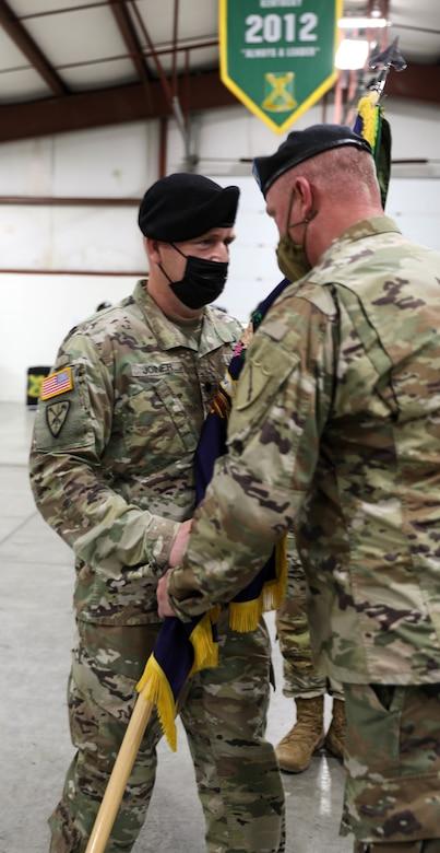 Lt. Col. Allen Joiner assumes command