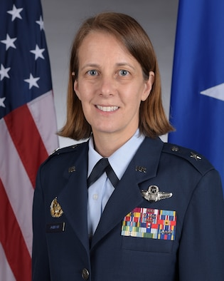 This is the official portrait of Brig. Gen. Jennie R. Johnson.