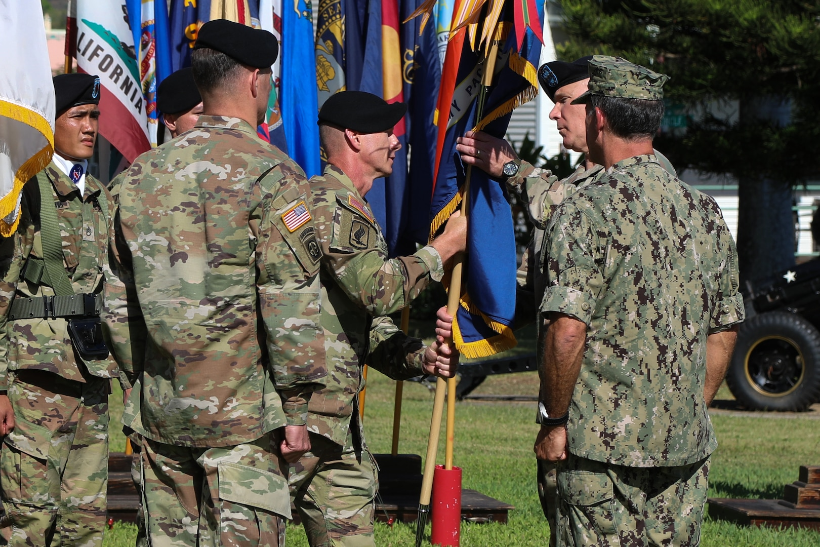 General Charles Flynn Takes Command of U.S. Army Pacific