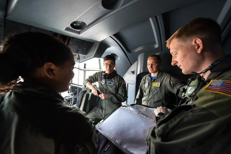 Airmen talk about Normandy fly over