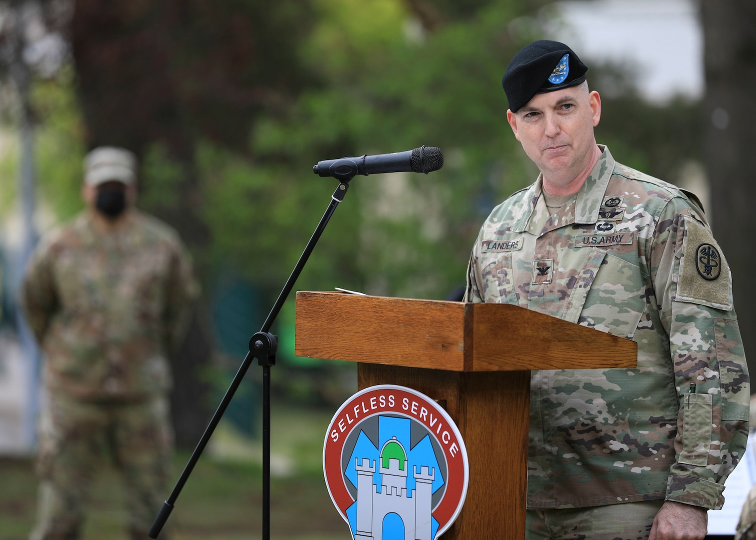 LRMC welcomes new commander