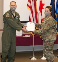Tracy promoted to Senior Airman