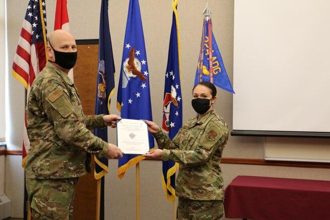 VanDeusen promoted to Chief Master Sergeant