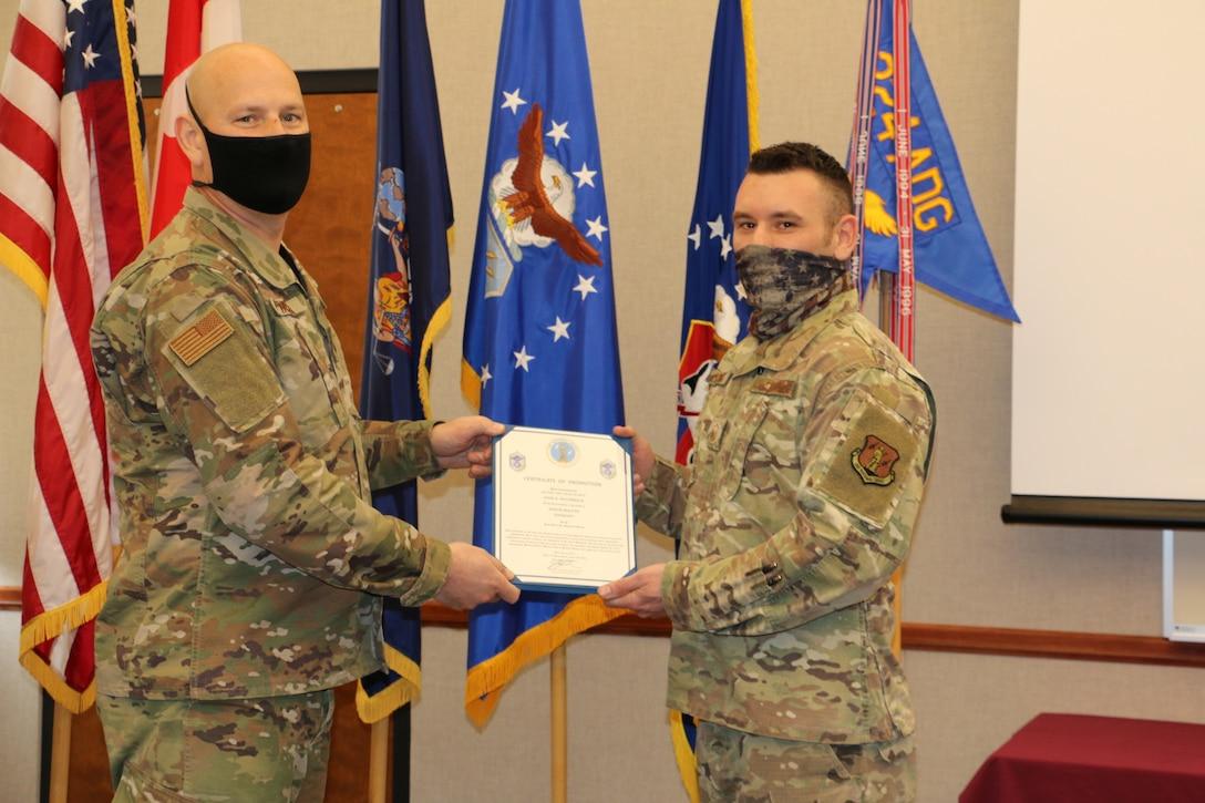 McCormick promoted to Senior Master Sergeant