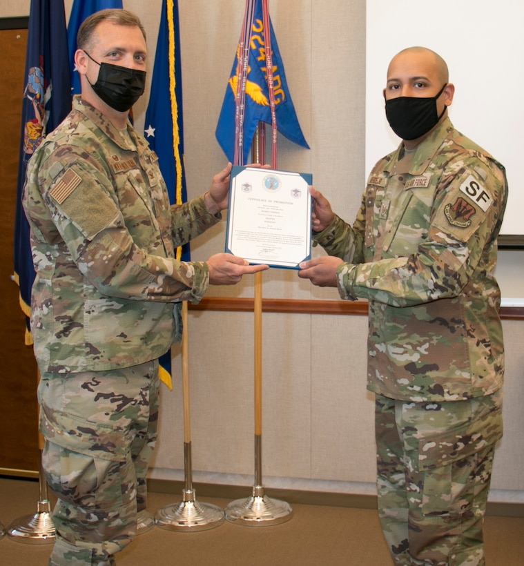 Verdejo promoted to Master Sergeant