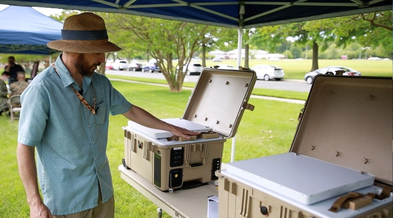 MCSC leverages small business technologies to support the warfighter