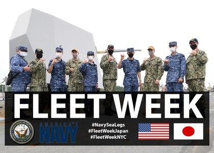 Fleet Week Japan Brings Americans, Japanese Partnership to New Heights
