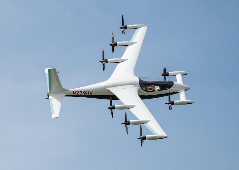 Kitty Hawk demonstrates eVTOL aircraft Heaviside's automated and remote flight capabilities.