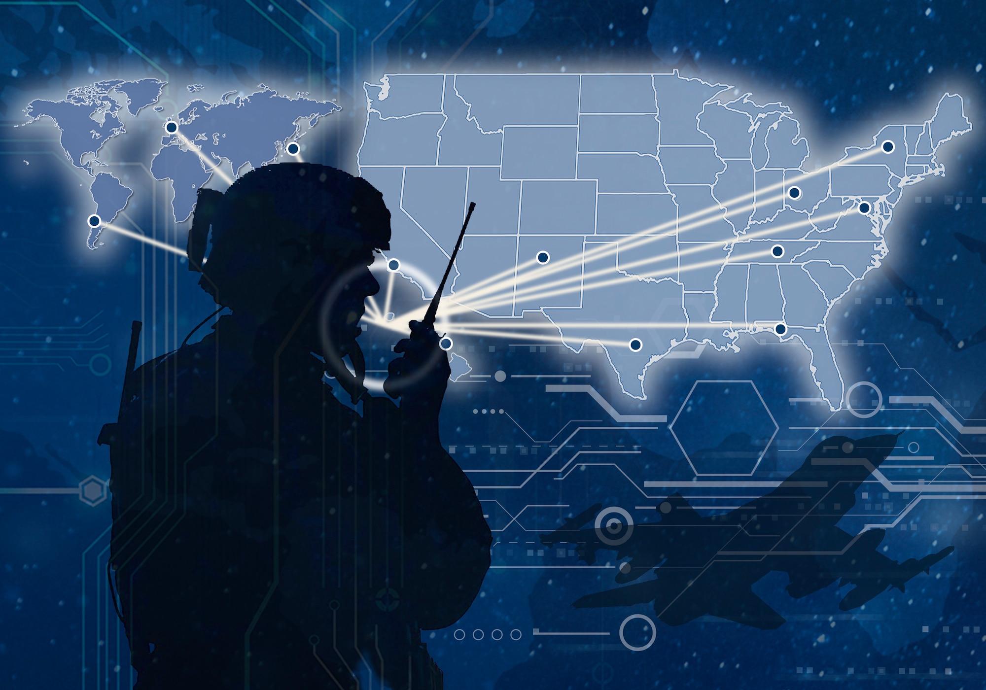 digital airman graphic
