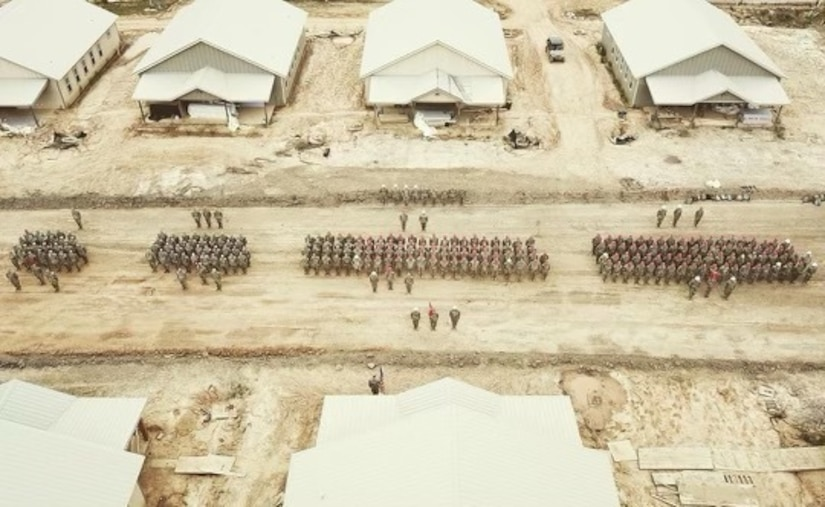 Camp Kamassa aerial photo