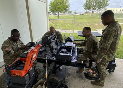 The purpose of this training was to build relationships among the DCE NCO's as well as increase their ability and proficiency to operate all of U.S. Army North's tactical voice and data communications equipment.