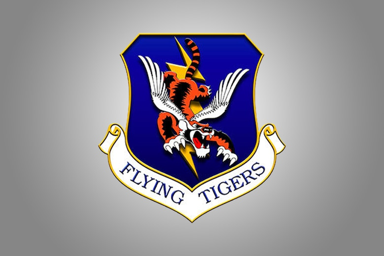 Graphic of Flying Tigers shield