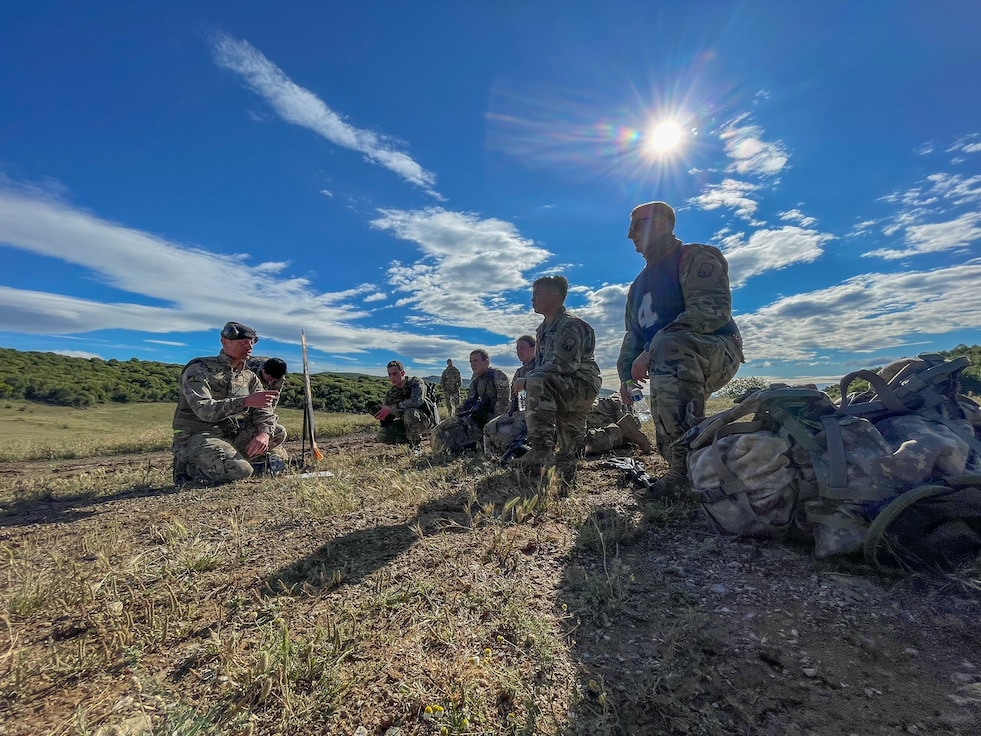 Soldiers from the 16th Sustainment Brigade join Allied forces from Greece and the UK as they participate in a Trilateral Rodeo in Greece, June 2. The purpose of this event was to gain interaction and build cohesion while maintaining proficiency and provide Team Combat Force Readiness.