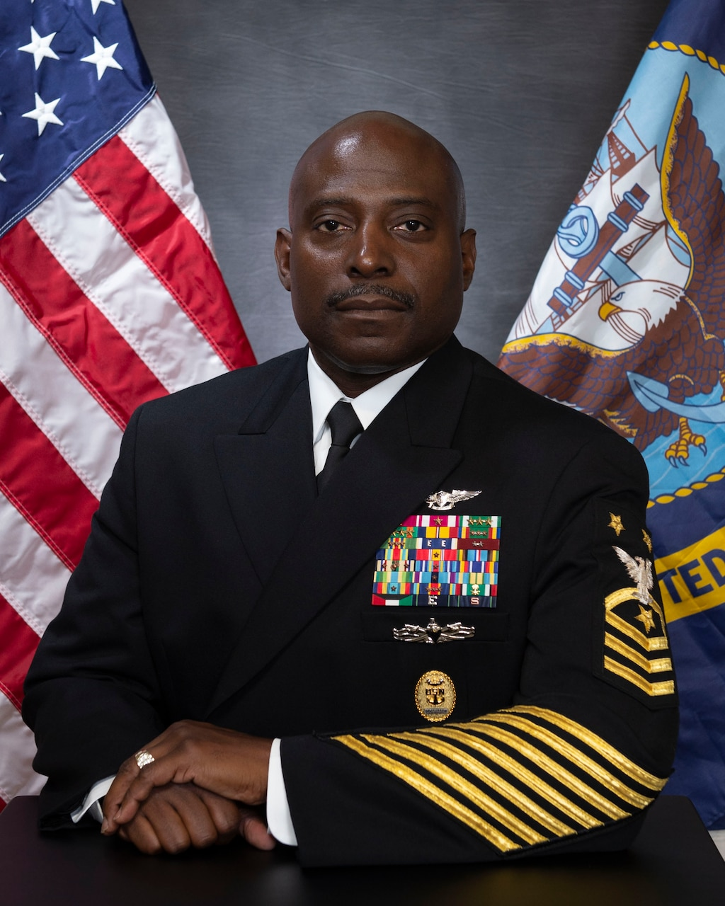 Fleet Command Master Chief Huben Phillips