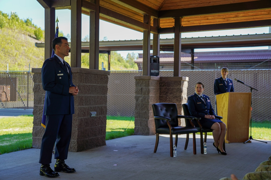 176th Force Support Flight upgrades, reflags as 176th Force Support Squadron