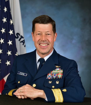 Rear Admiral M. W. (Joe) Raymond