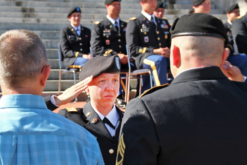 Kentucky honors newest officers, warrant officers