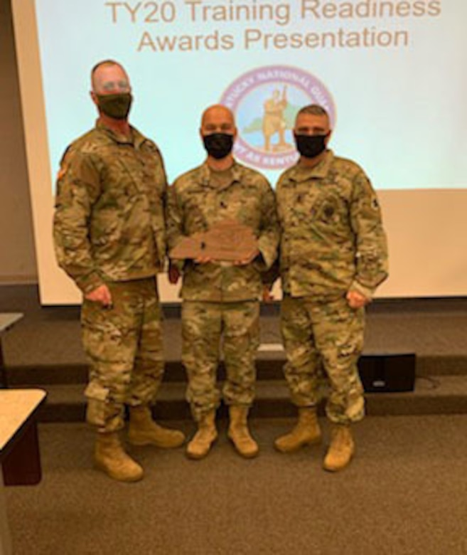 Training Awards handed to top units
