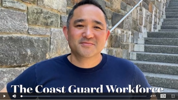 Video featuring members of the Coast Guard workforce sharing the reasons they chose to get vaccinated against COVID-19.