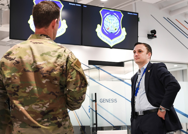 Air Force chief software officer visits