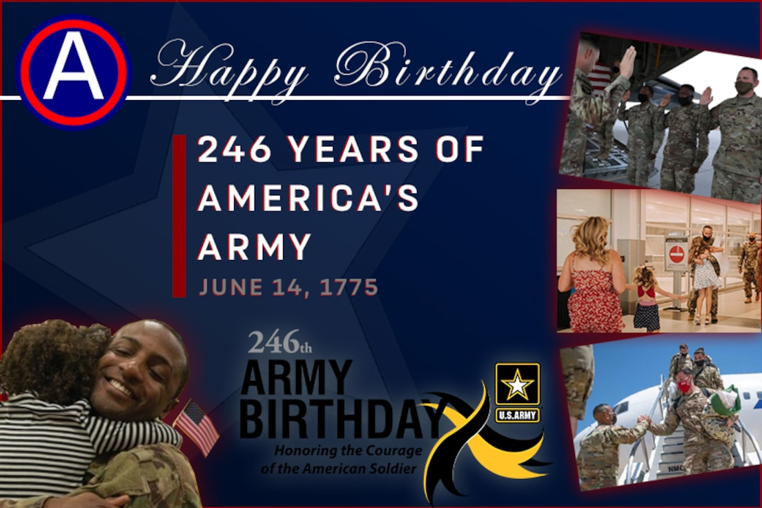 USARCENT Celebrates 246 Years of America's Army. Honoring the Courage of the American Soldier.