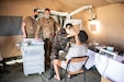 Approximately 80 U.S. Air National Guard and active duty airmen joined more than 100 members of the Moroccan military to provide medical care to 461 patients on June 7, at a surgical field hospital set up for humanitarian civic assistance during African Lion 2021.