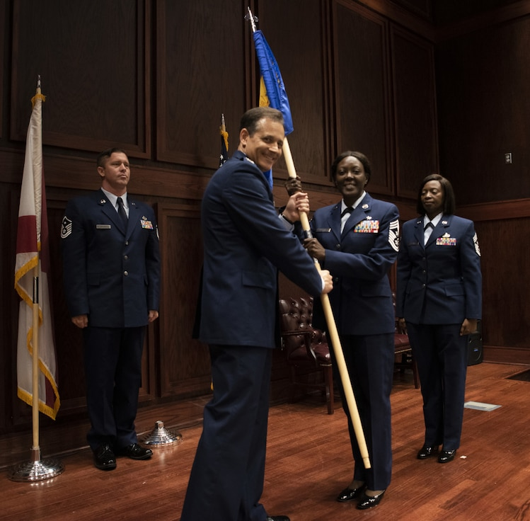 Chief Master Sgt. Mataya Williams assumed authority as Dannelly Field's newest command chief June 6, 2021, in a change of authority ceremony at Dannelly Field, Ala. Williams discusses who she is as a leader, her expectations, and vision for the wing. (U.S. Air National Guard video by Staff Sgt. Hayden Johnson)  Music: www.bensound.com