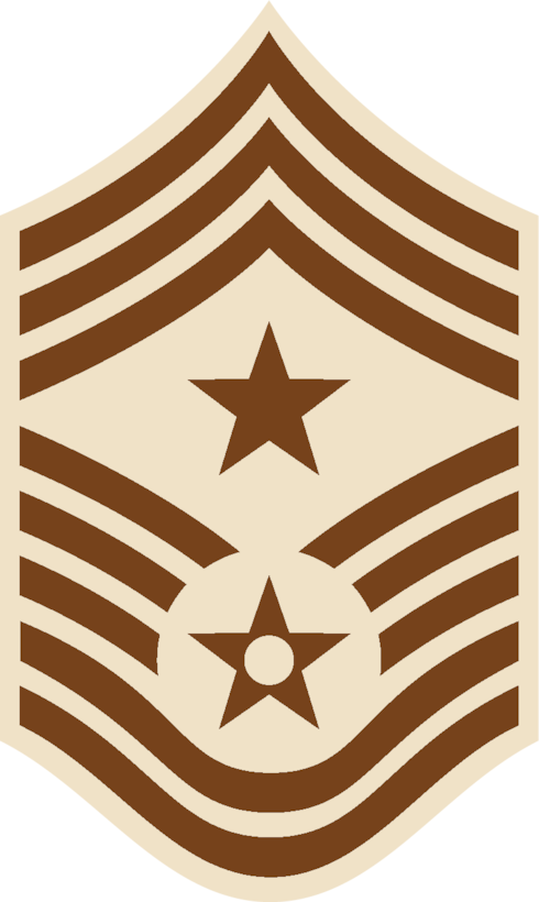 Command Chief Master Sergeant (DCU color), U.S. Air Force graphic
