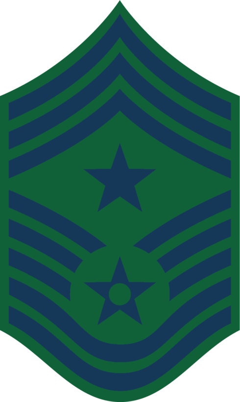 Command Chief Master Sergeant (BDU color), U.S. Air Force graphic