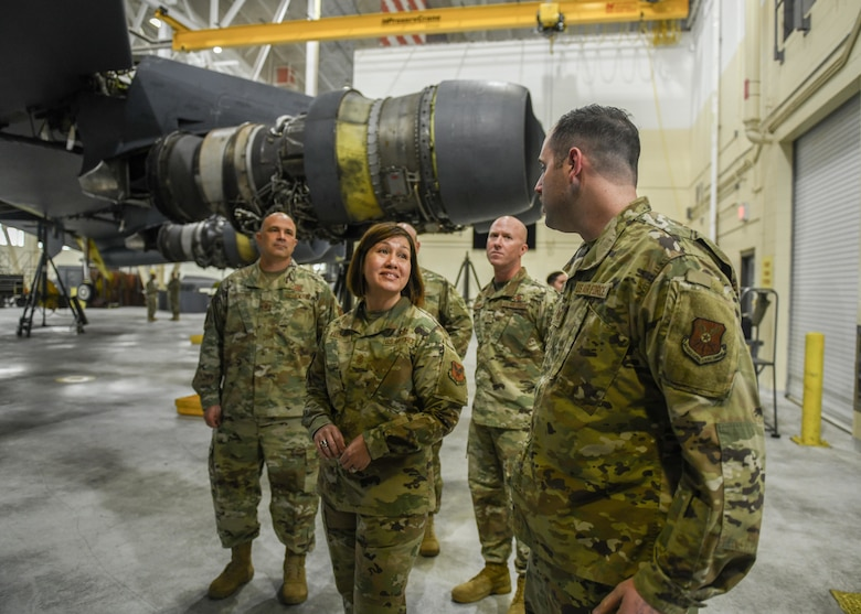 CMSAF Bass talks to maintainers