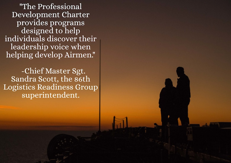 words on photo of people looking at sunset.