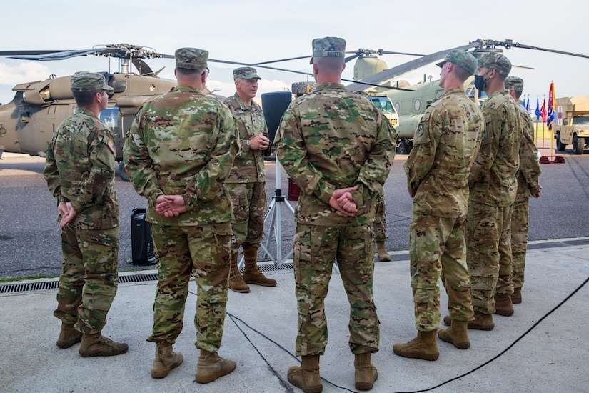 JTF-Bravo Winged Warriors awarded Air Medal for actions after Hurricane Eta