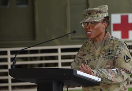 Photo of Col. Daphne Austin.