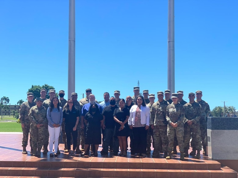 """36th Contracting Squadron host """"Oath of Office"""""""