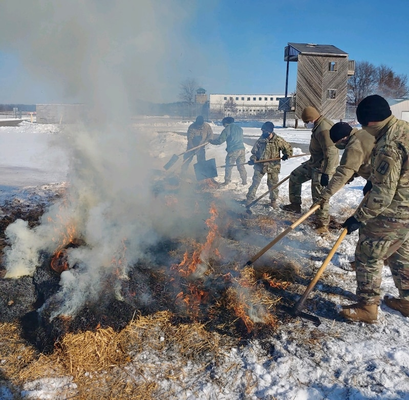 Army Reserve instructors teach soldiers about ammunition and explosives
