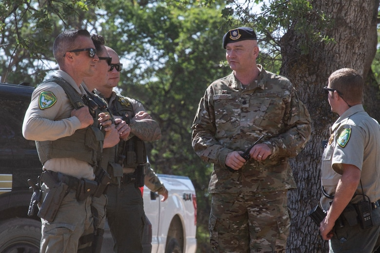 Airmen and families on Beale Air Force Base were struck with a real-world notification, directing residents to evacuate due to an approaching wildfire.