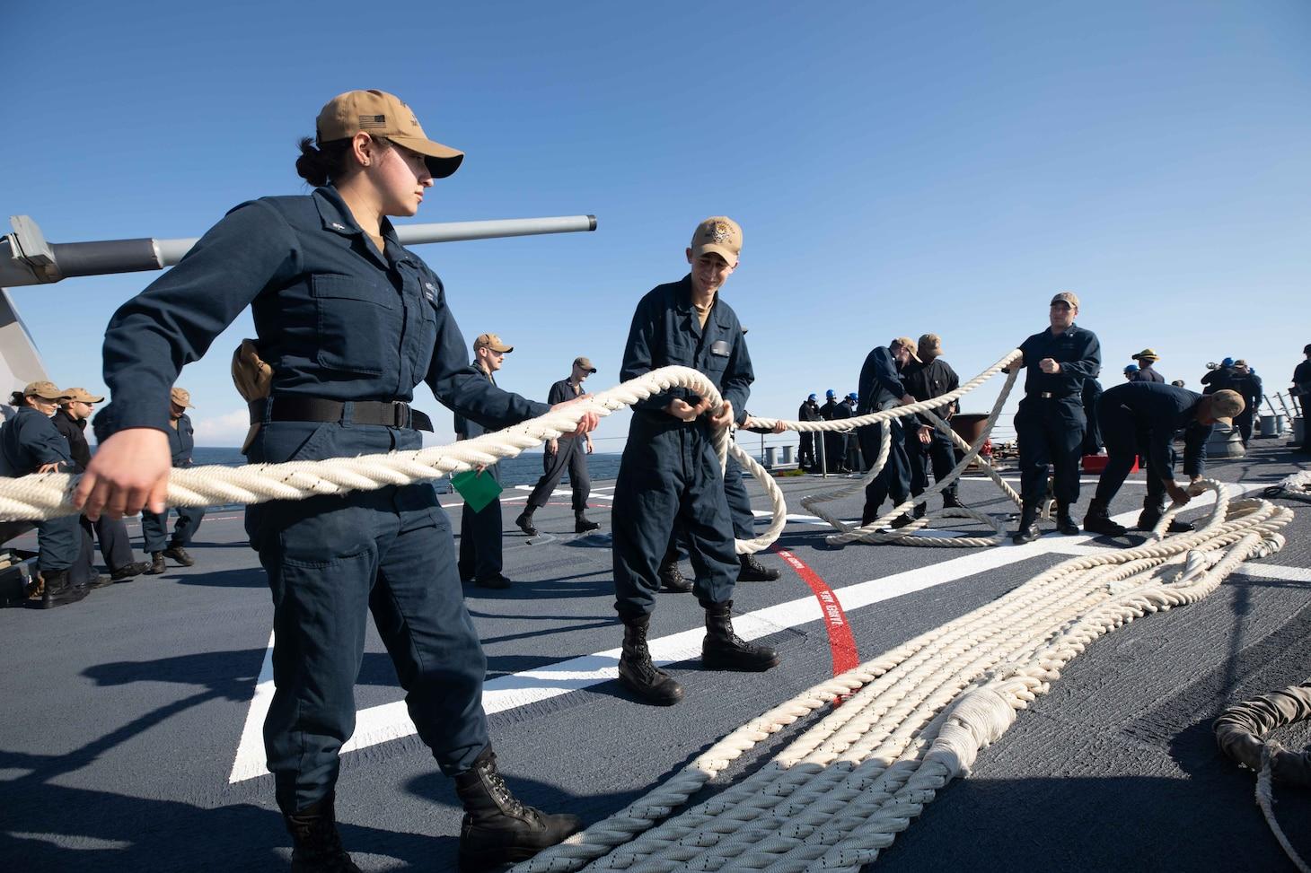 Gdynia, Poland; USS Roosevelt (DDG 80)